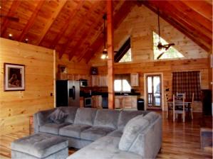 Holiday mountain cabin photos virginia cabin rentals for Cabin rentals near luray va