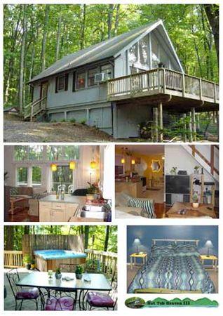 Hot Tub Heaven Virginia Weekend Getaway Cabin Rentals