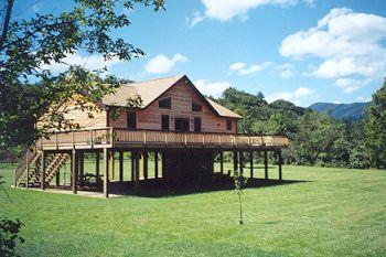 Rippling river cabin rental at luray virginia page county for Cabin rentals near luray va